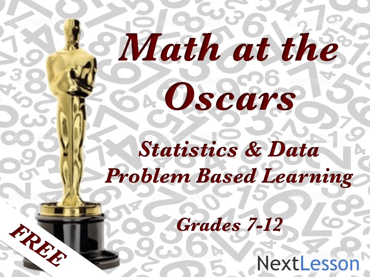 Math at the Oscars - Problem Based Learning
