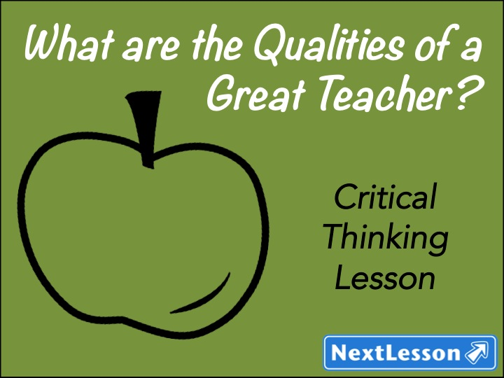 Qualities of a Great Teacher!