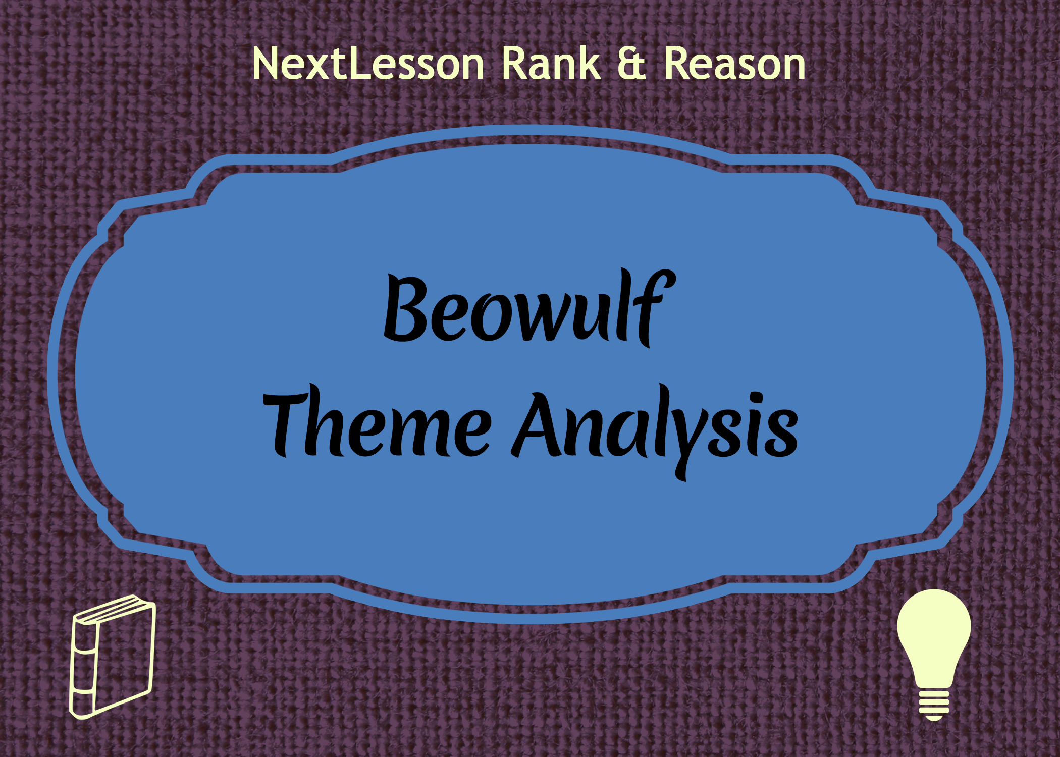 theme analysis of beowulf Themes that are present in beowulf include loyalty, reputation, generosity,  hospitality, envy, revenge, the search for identity, the difference between good.