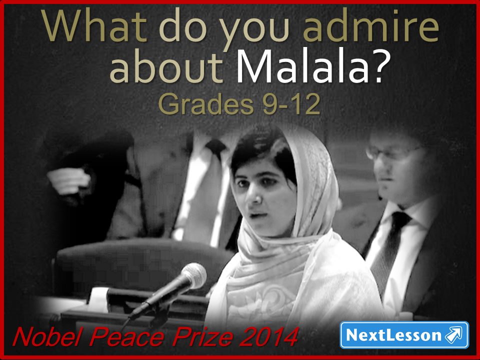 Malala and the Nobel Peace Prize