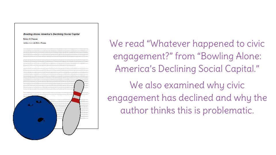 bowling alone essay