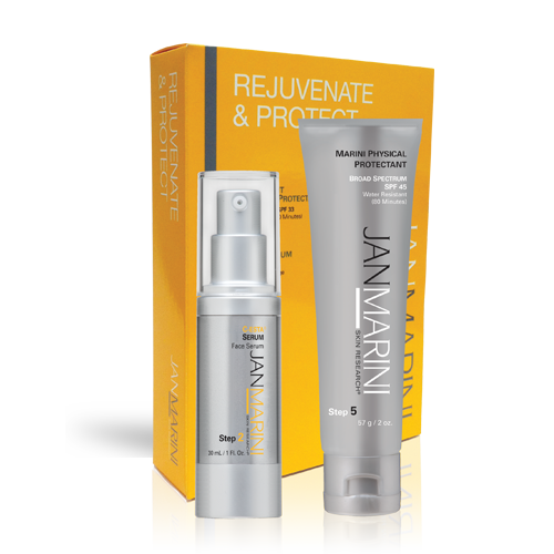 Rejuvenate & Protect – Marini Physical SPF + Free Bioglycolic Face Cleanser