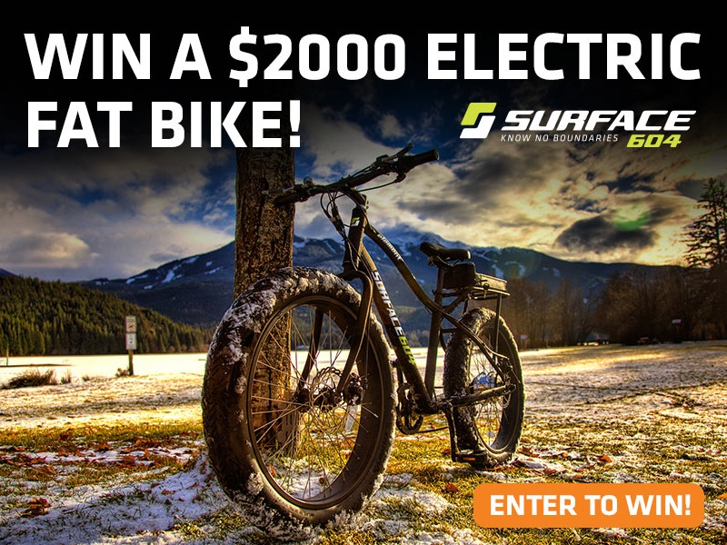 WIN a $2000 Electric Fat Bike