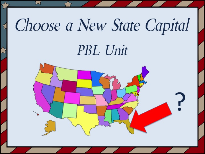 Choose A New State Capital