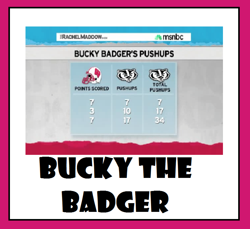 3 Act Math - Bucky the Badger