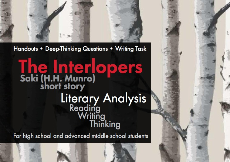 The Interlopers by Saki, Use this short story to teach literary analysis and real-world journalism writing skills