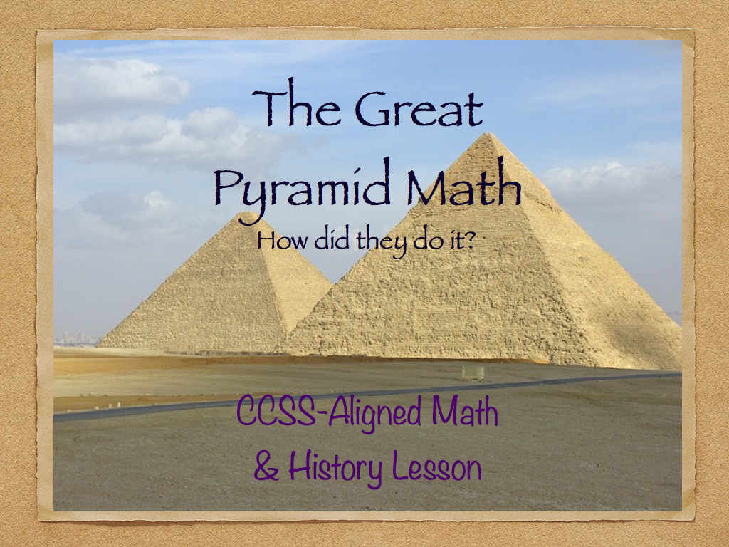 The Great Pyramid Math