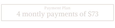 Natalie Rousseau || 13 Moons payment plan with forever access