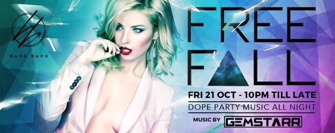 Free F△LL Fridays feat Gemstarr // 21st Oct