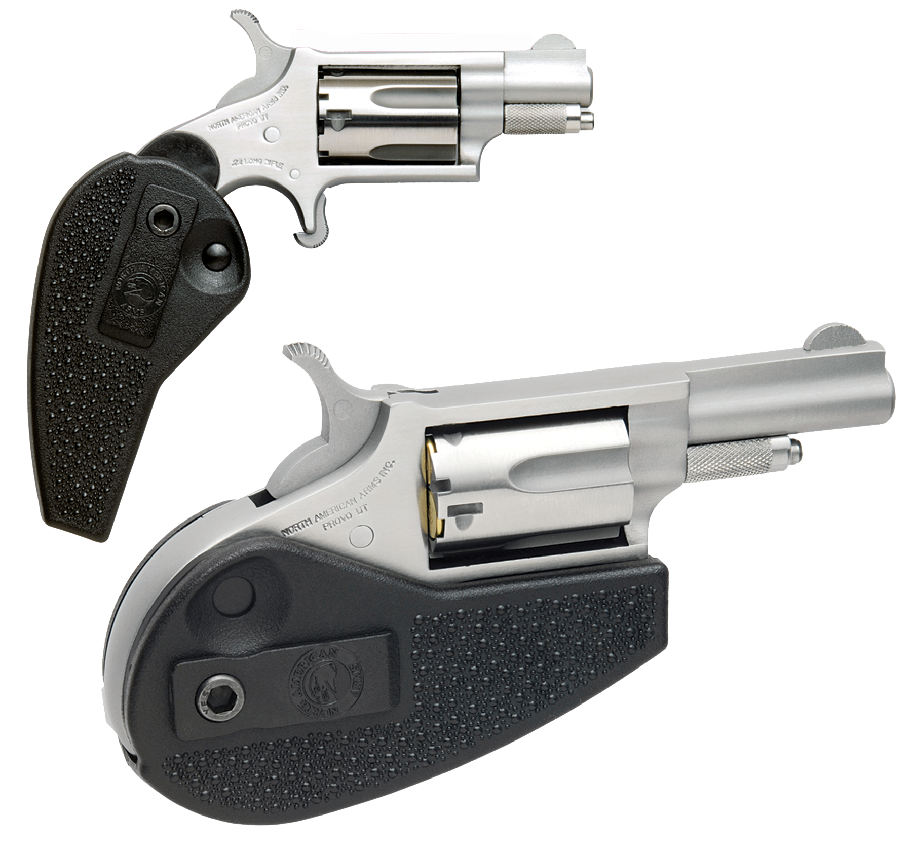 North American Arms 22 Magnum Holster Grip with 22 LR