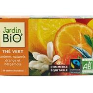 Thé Vert Orange Bergamote Bio from Jardin BIO