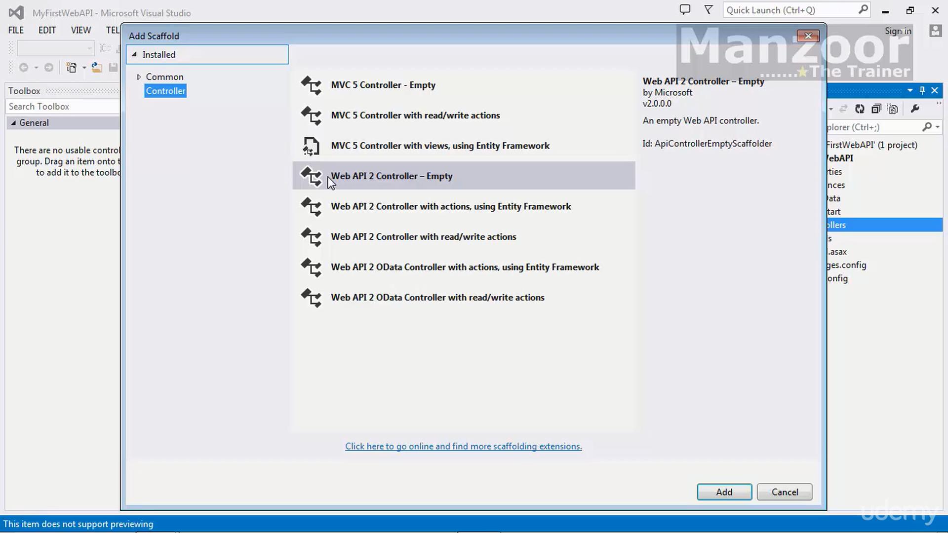 Asp.net Web Api 2: Beginner Guide / Microservice Patterns