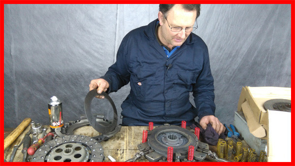 Refurbishing Massey Ferguson 135 Clutch.