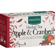 Herbal Tea Apple & Cranberry from Fredsted