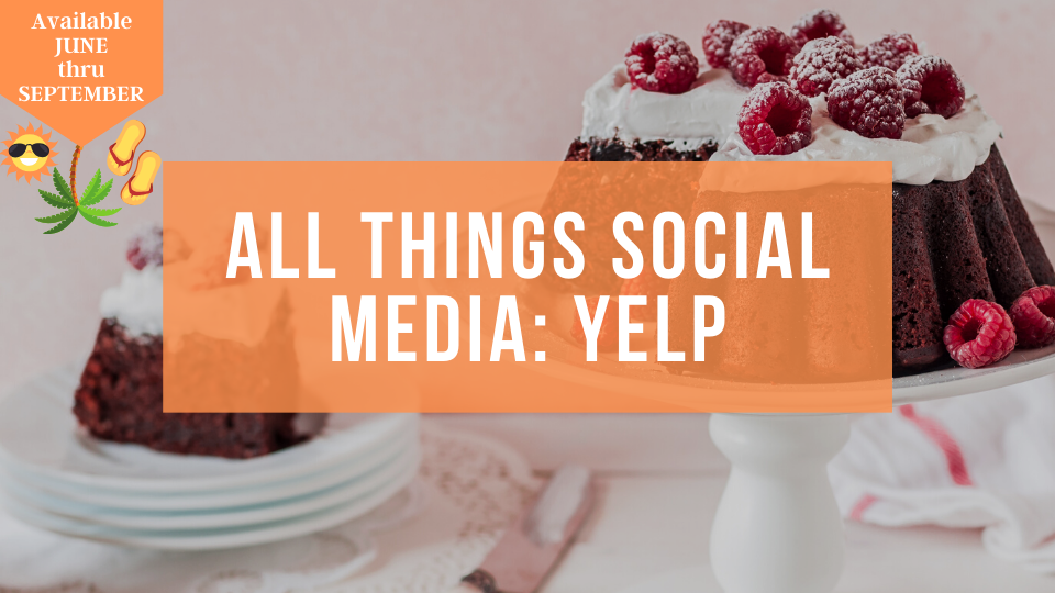 Learn how to use Yelp to grow your baking business organically online. Hosted by the Sugar Coin Academy, Business Trainings for Bakers and Sweet Treat Makers.