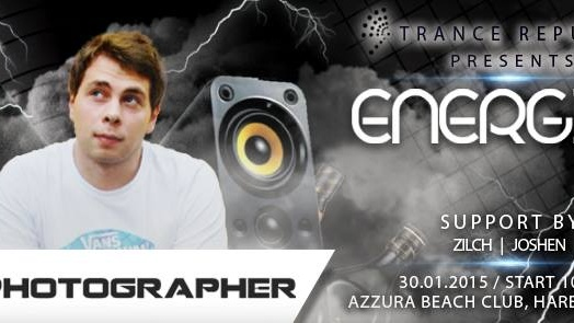 Trance Republic pres. Energise with Photographer