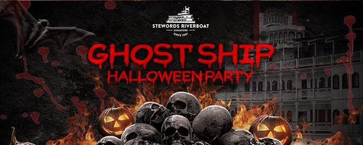 Ghost Ship 1017 Halloween Party