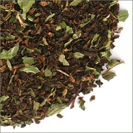 Decaf chocolate mint black from The Tea Table