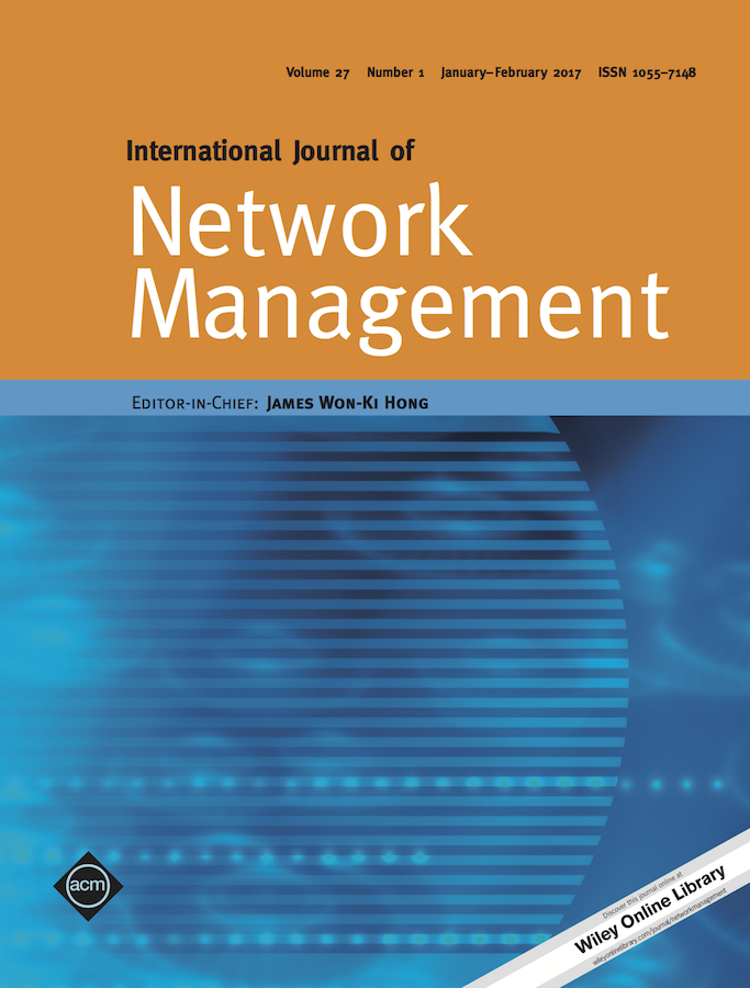 Template for submissions to International Journal of Network Management