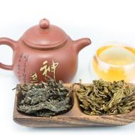 2013 Bada Mountain Sheng - Puerh from Tribute Tea Company
