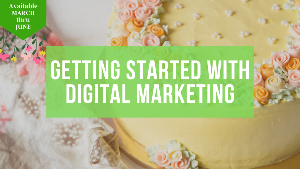 Learn how to get started with advertising and marketing your baking and sweet business online with the Sugar Coin Academy, Business Trainings for the Bakers and Sweet Makers.