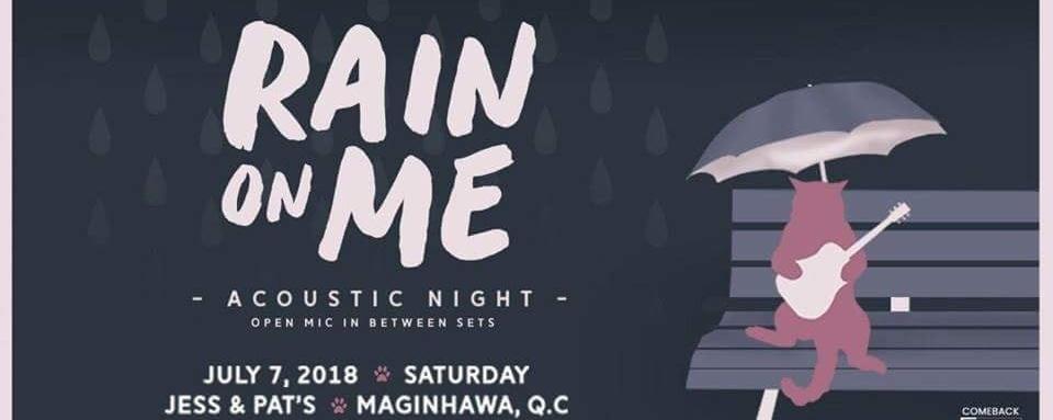 RAIN on ME - Acoustic Night