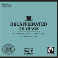 Fairtrade Decaffeinated teabags from Marks & Spencer Tea