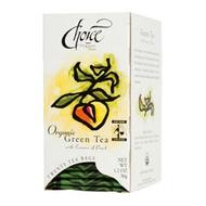 Peach Green from Choice Organic Teas