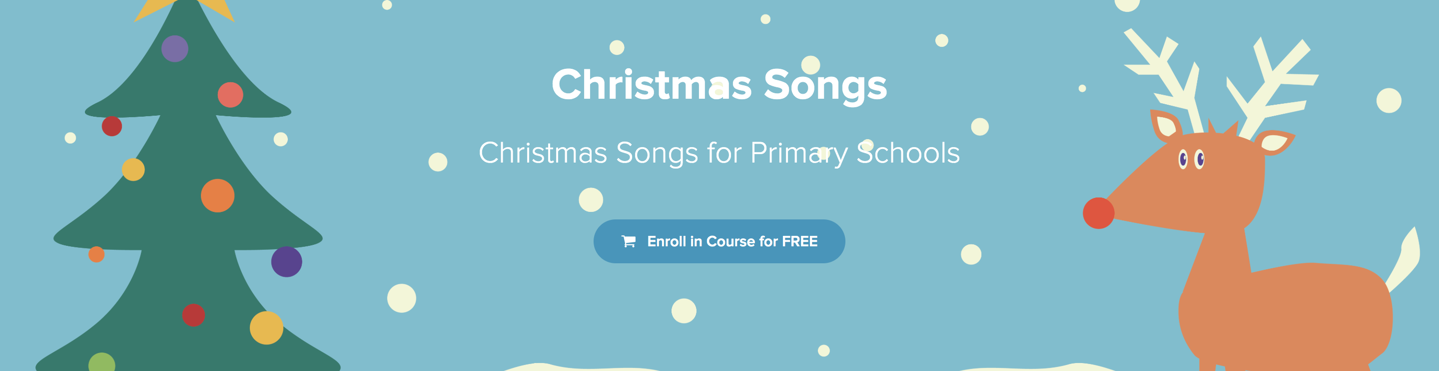 DabbledooMusic Christmas Songs Course