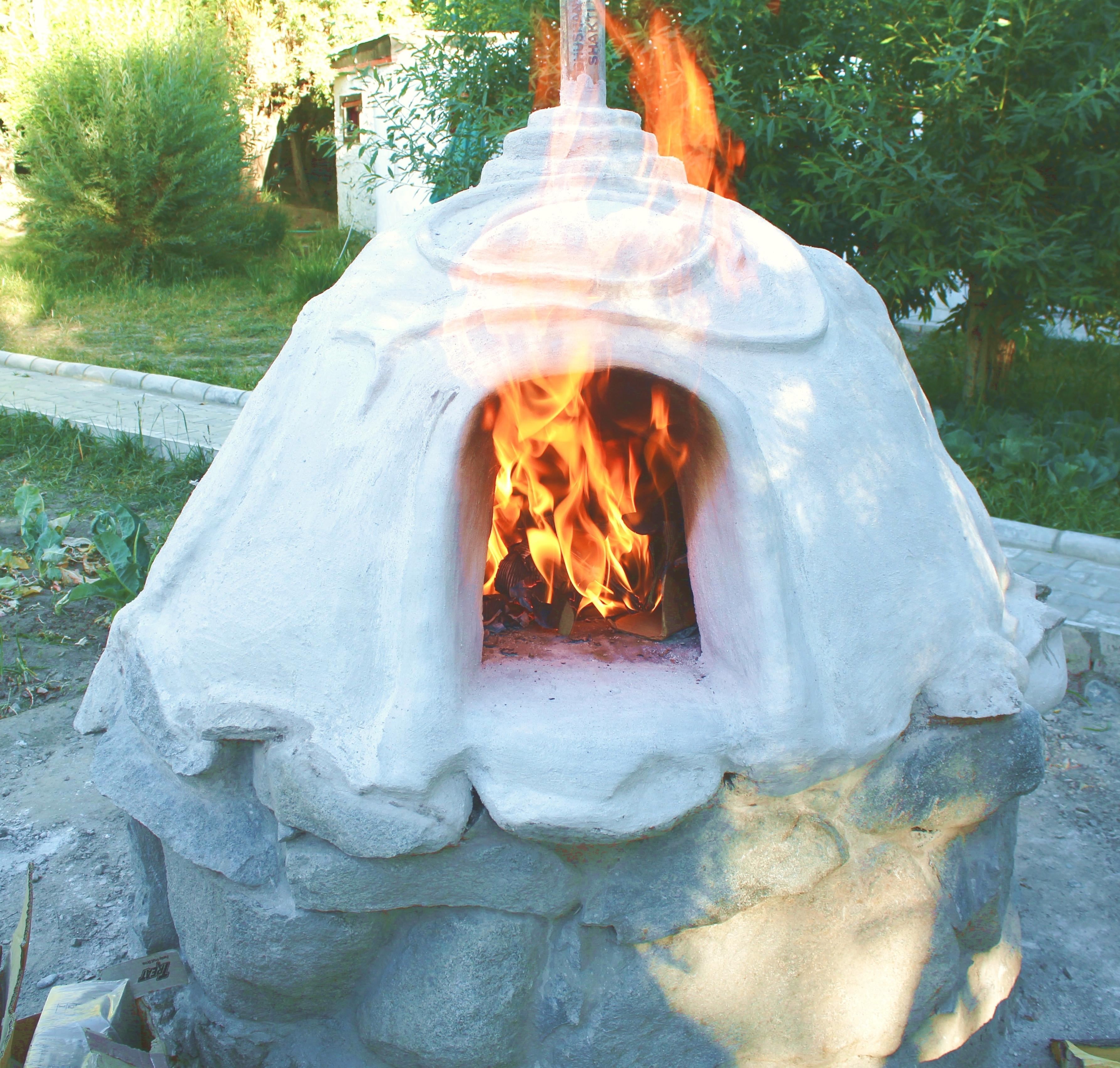 Food Stupa