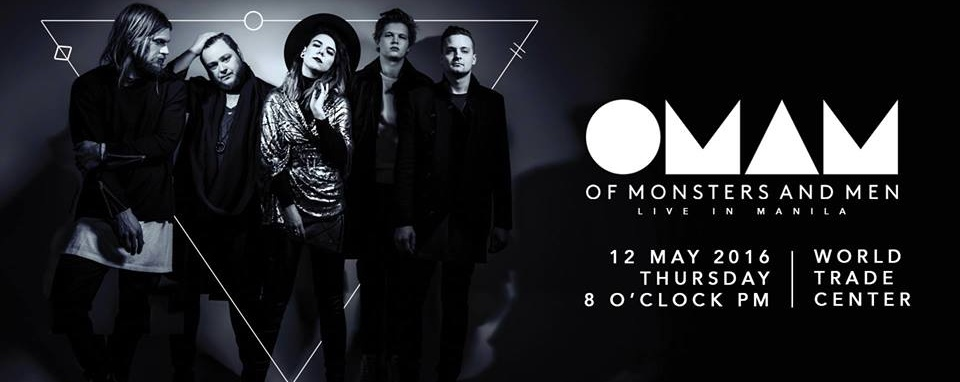 OF MONSTERS AND MEN - LIVE IN MANILA