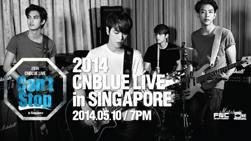 CNBLUE LIVE - CAN'T STOP IN SINGAPORE