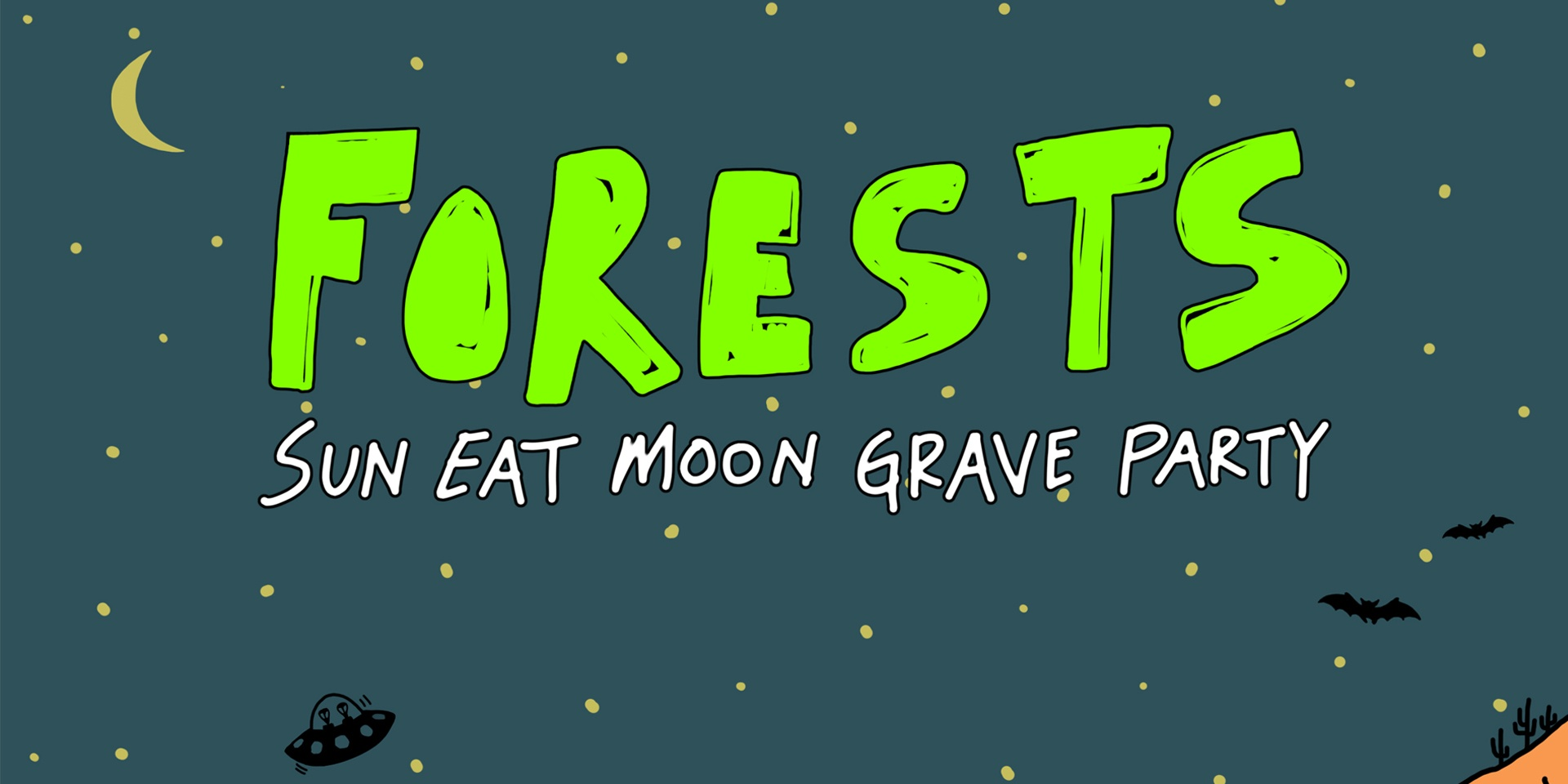 Stream Forests' wonderful sad rave album, Sun Eat Moon Grave Party