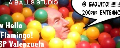 LA BALLS STUDIO NIGHT at SAGUIJO