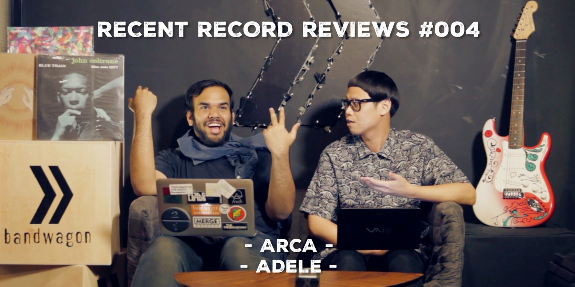 WATCH: Bandwagon Recent Record Reviews #004 - Arca, Adele