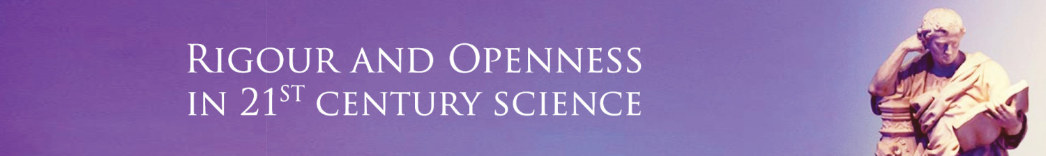 Rigour and Openness conference banner