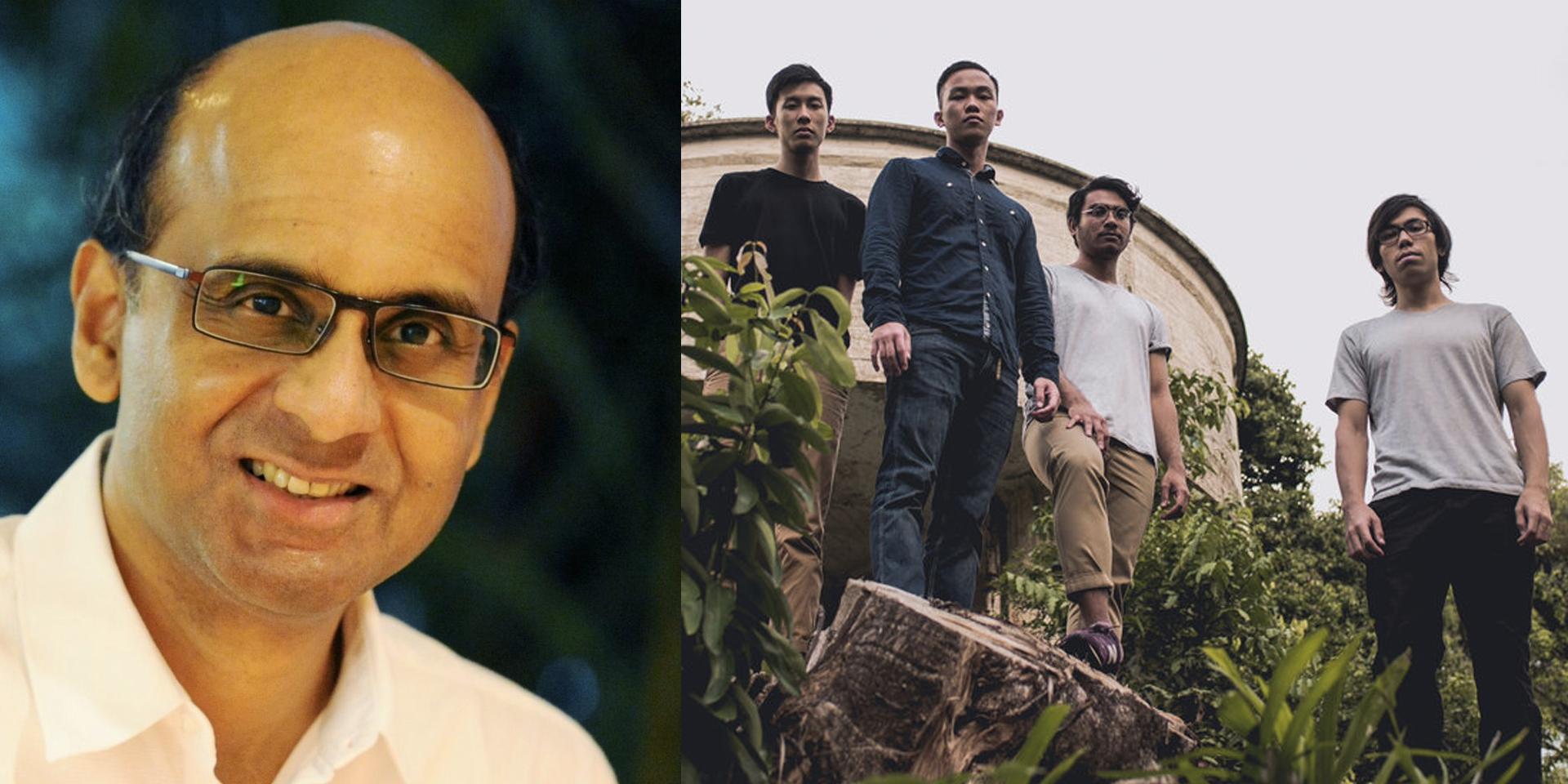 DPM Tharman Shanmugaratnam shouts out Gentle Bones, approves of Sphaeras