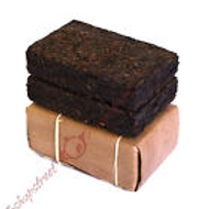 2005 Yunnan Aged Big Leaf Puerh Tea Ripe Fitness Brick from Streetshop88