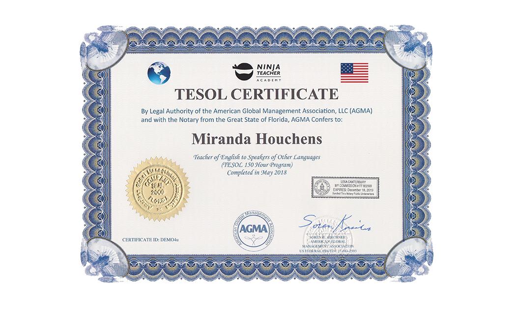 150 Hour Online Tesol Certification Ninja Teacher Academy
