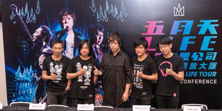 5 things we learnt from Mayday at their Singapore press conference