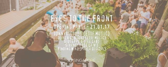 Eyes To The Front - Opening Party!