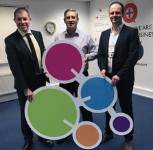 Jason Pitt, Stephen Shaw and Charles Addison announce historic deal