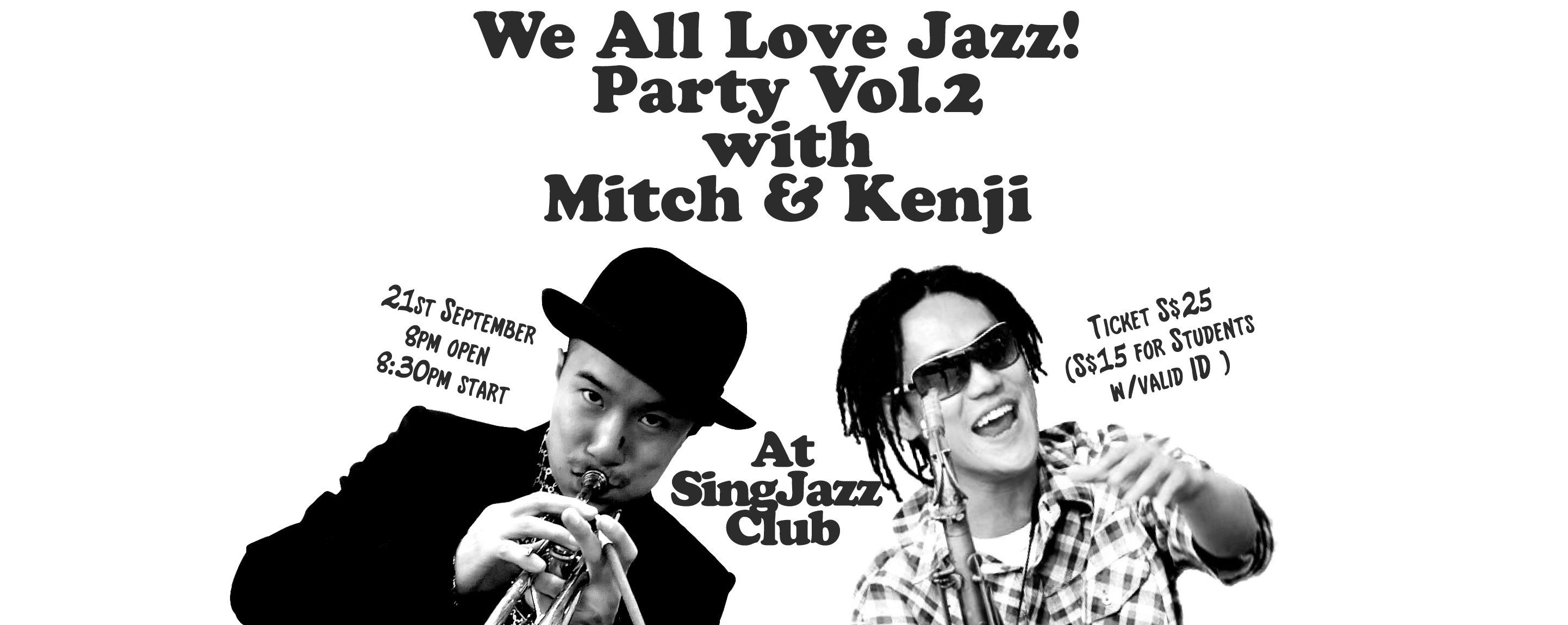 'WE ALL LOVE JAZZ!' PARTY Vol.2