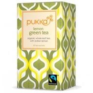 Lemon Green tea from Pukka