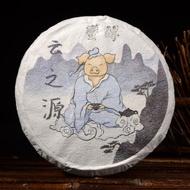 """2019 Yunnan Sourcing """"Man Zhuan"""" Old Arbor Raw Pu-erh Tea Cake from Yunnan Sourcing"""