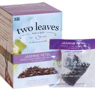 Jasmine Petal - Whole leaf green tea sachets from two leaves and a bud