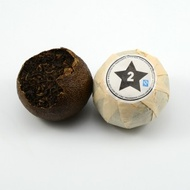 2011 Black Star Puerh Stuffed Xinhui Mandarin from white2tea