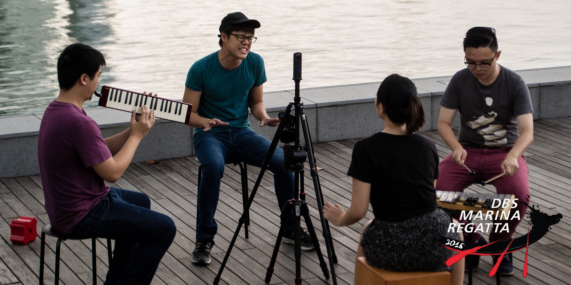 Singaporean artists lined up for DBS Marina Regatta perform songs in 360° videos