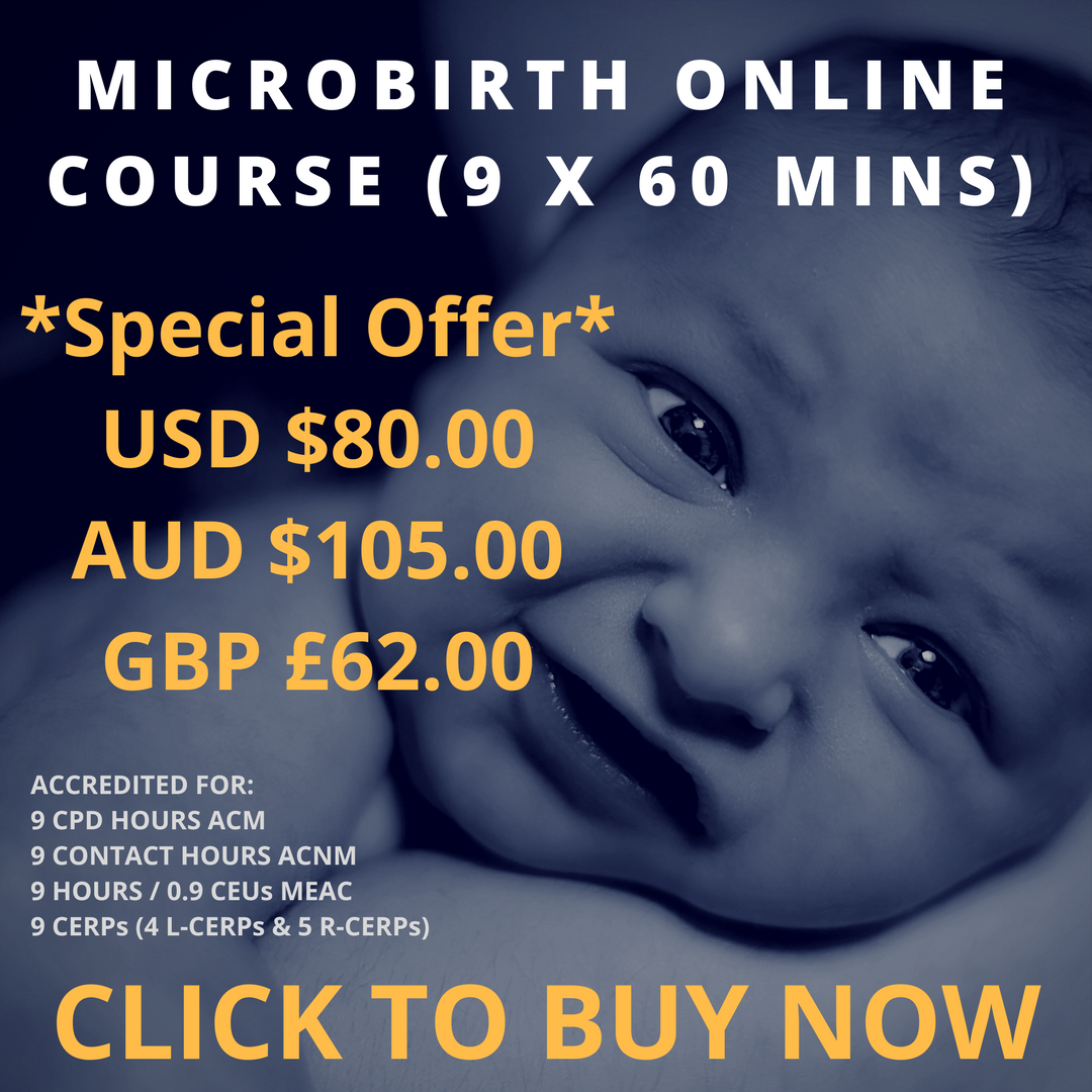 MIcrobirth Online Course (9x60 mins)