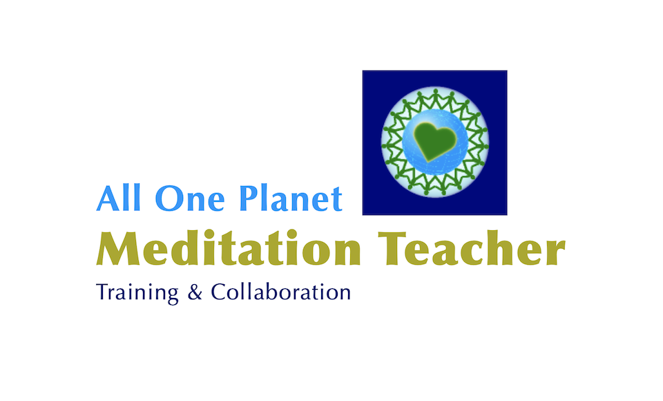 photo of an All One Planet Meditation Teacher student folder